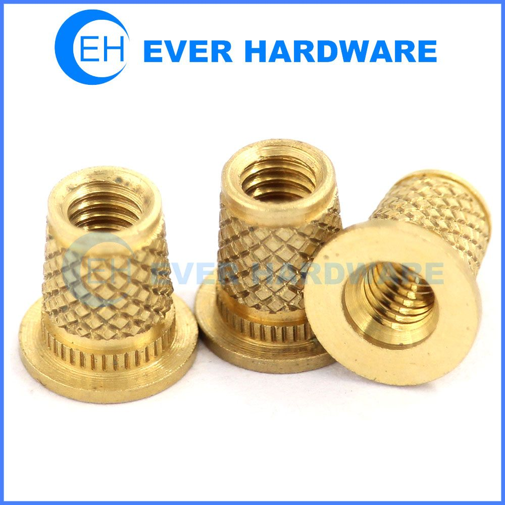 Brass Thumb Nuts Custom Flat Head Metric Threaded Inch Threaded Metric Thread Hardware Skateboard Hardware