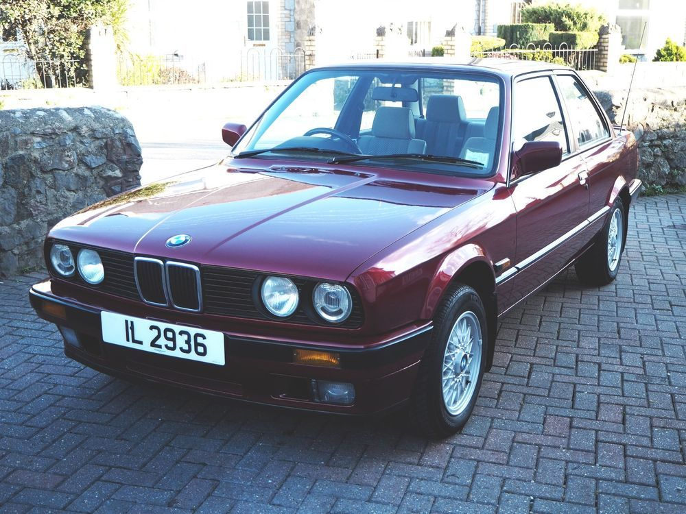 EBay BMW E I Lux Coupe Calypso Red Private Plate - Automatic classic cars