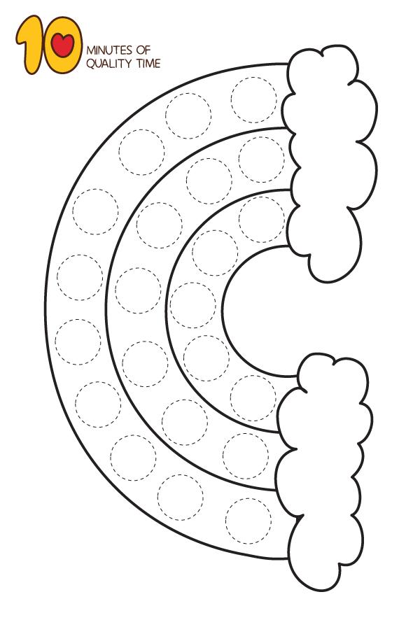 25 Dot Activity Printables Easy Art For Kids Do A Dot Dot Worksheets