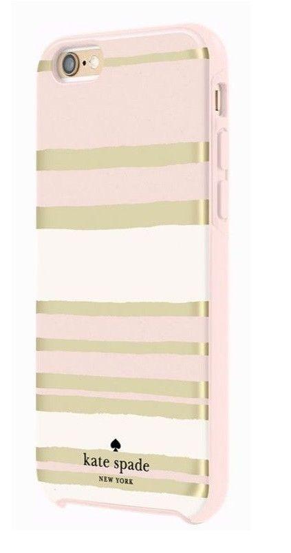 super popular 50a3a 6f7ff Kate Spade New York Hybrid Hardshell Case Capri Stripe for iPhone 6 ...
