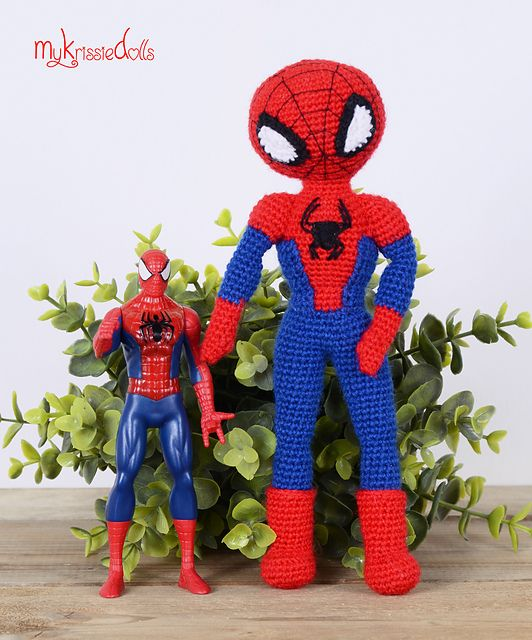 Amigurumi Spiderman | Oyuncaklar | Pinterest | Vorlagen und Häkeln