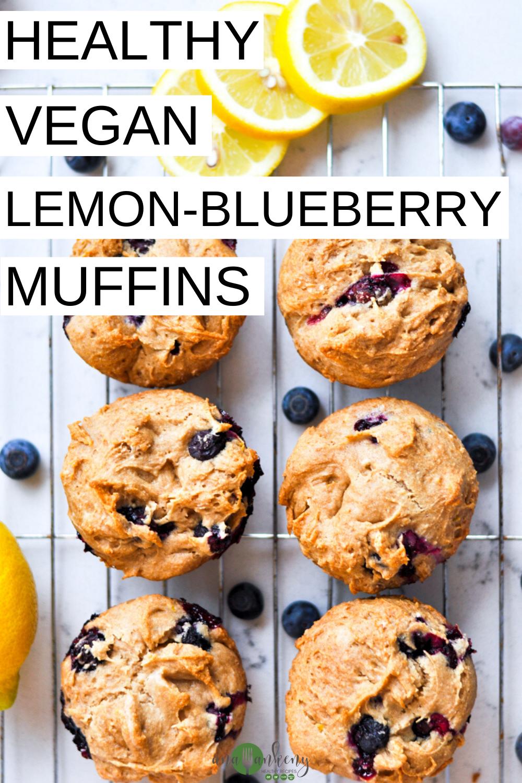 Gluten Free Lemon Blueberry Muffins Ana Ankeny Recipe In 2020 Lemon Blueberry Muffins Gluten Free Lemon Vegan Breakfast Muffins
