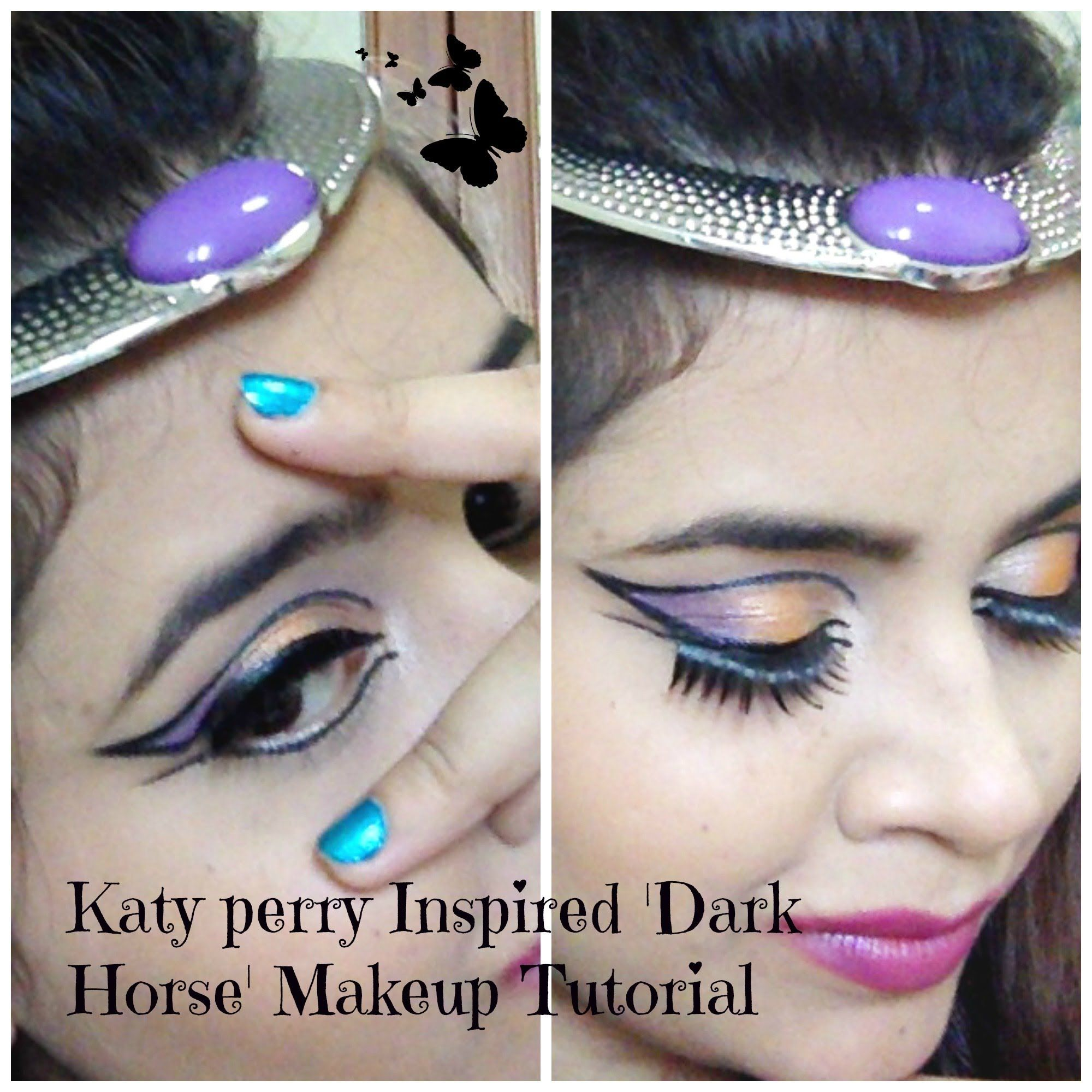 Katy Perry- 'Dark Horse' Makeup Tutorial !!! | Surya Ahuja ...