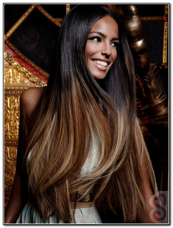 Highlights For Black Hair And Brown Skin Black Hair With Highlights Hair Styles Hair Highlights
