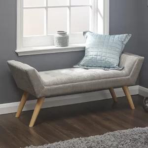 Fjorde Co Slagelse Upholstered Bench Wayfair Co Uk Upholstered Bench Living Room Bench Upholstered Bench Seat