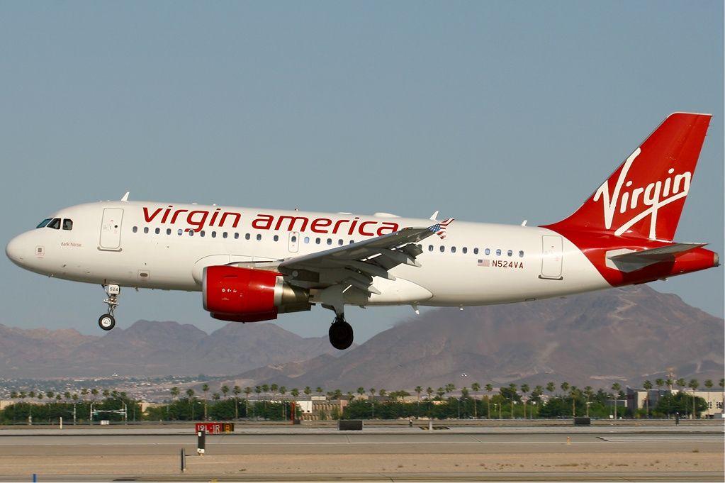 Airbus A319 Virgin america, Virgin america airlines