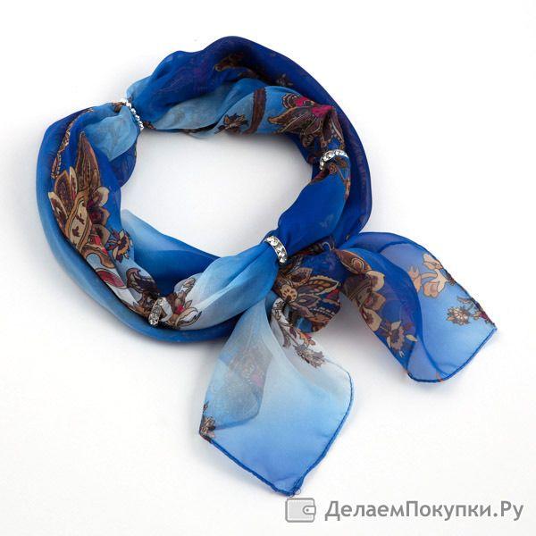 шарфы косынки платки