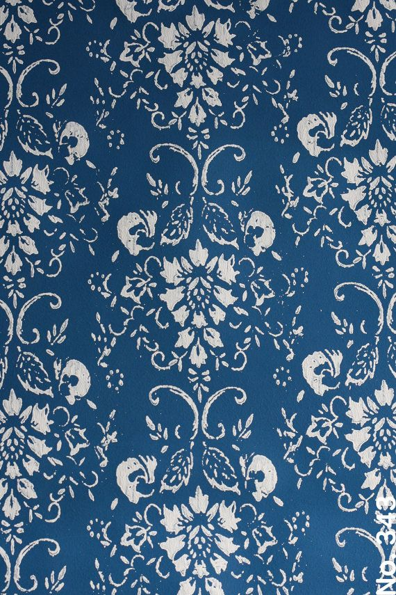 Wallpaper Paint Roller patterned paint roller in symphony scrolls design,by not wallpaper