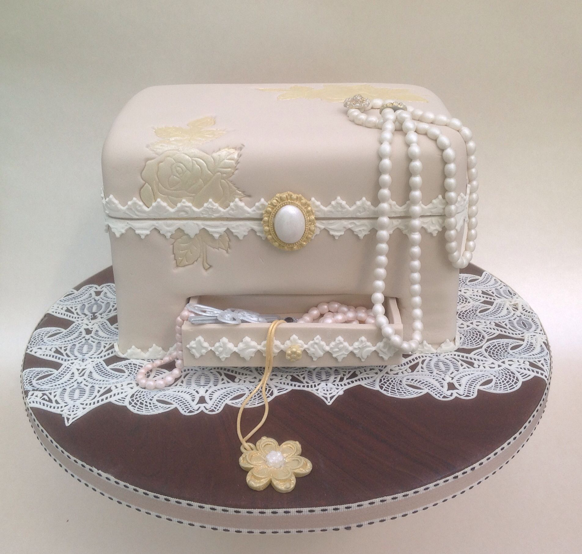 Vintage Style Jewellery Box Vintage Style Jewellery Box Birthday Cake Design Inspired