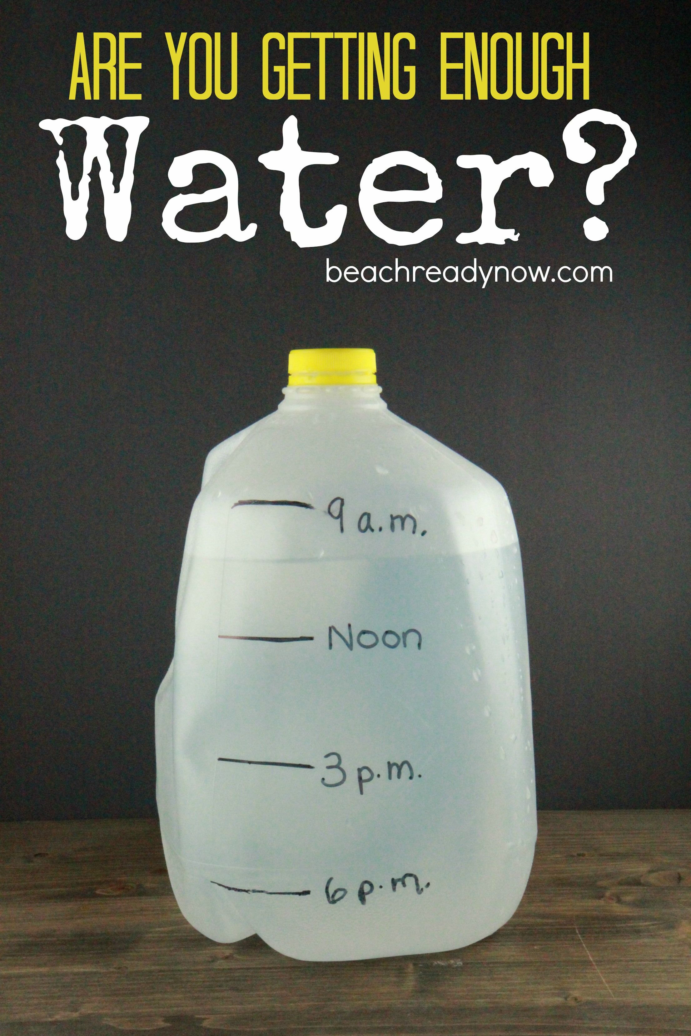 How much water should i be drinking health speed up