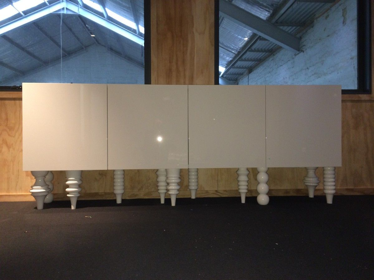 Ikea Besta Credenza Hack : Besta wall cabinets mod to sideboard my pad ikea