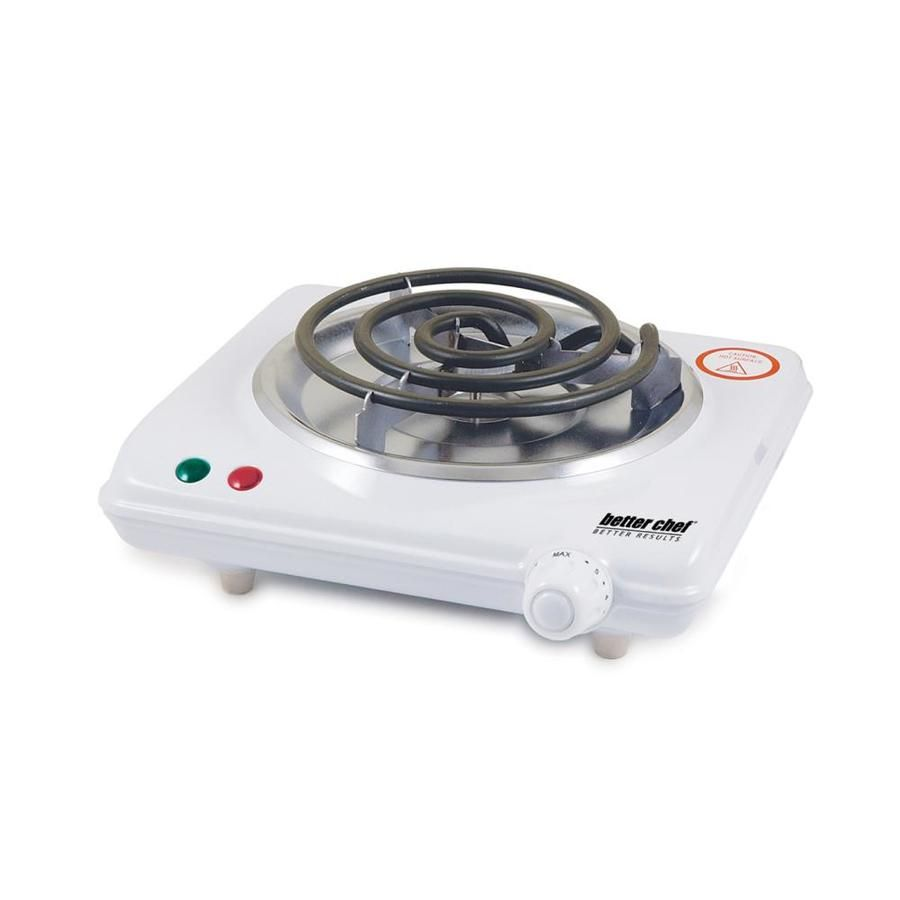 Better Chef 9 In Burner Plastic Hot Plate Countertop Hot Plate Stoves Range Kitchen Appliances