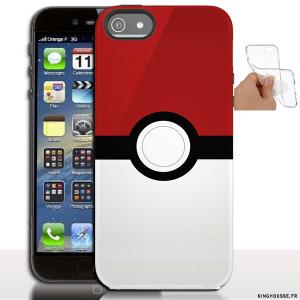 Étui iphone 5 en Silicone personnalisé PukeBall - Coque souple ...