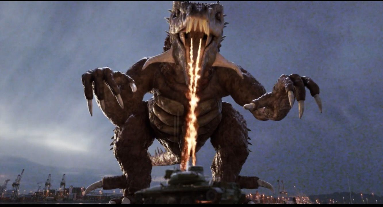 Fire Breather Godzilla Giant Monster Kaiju Dragon