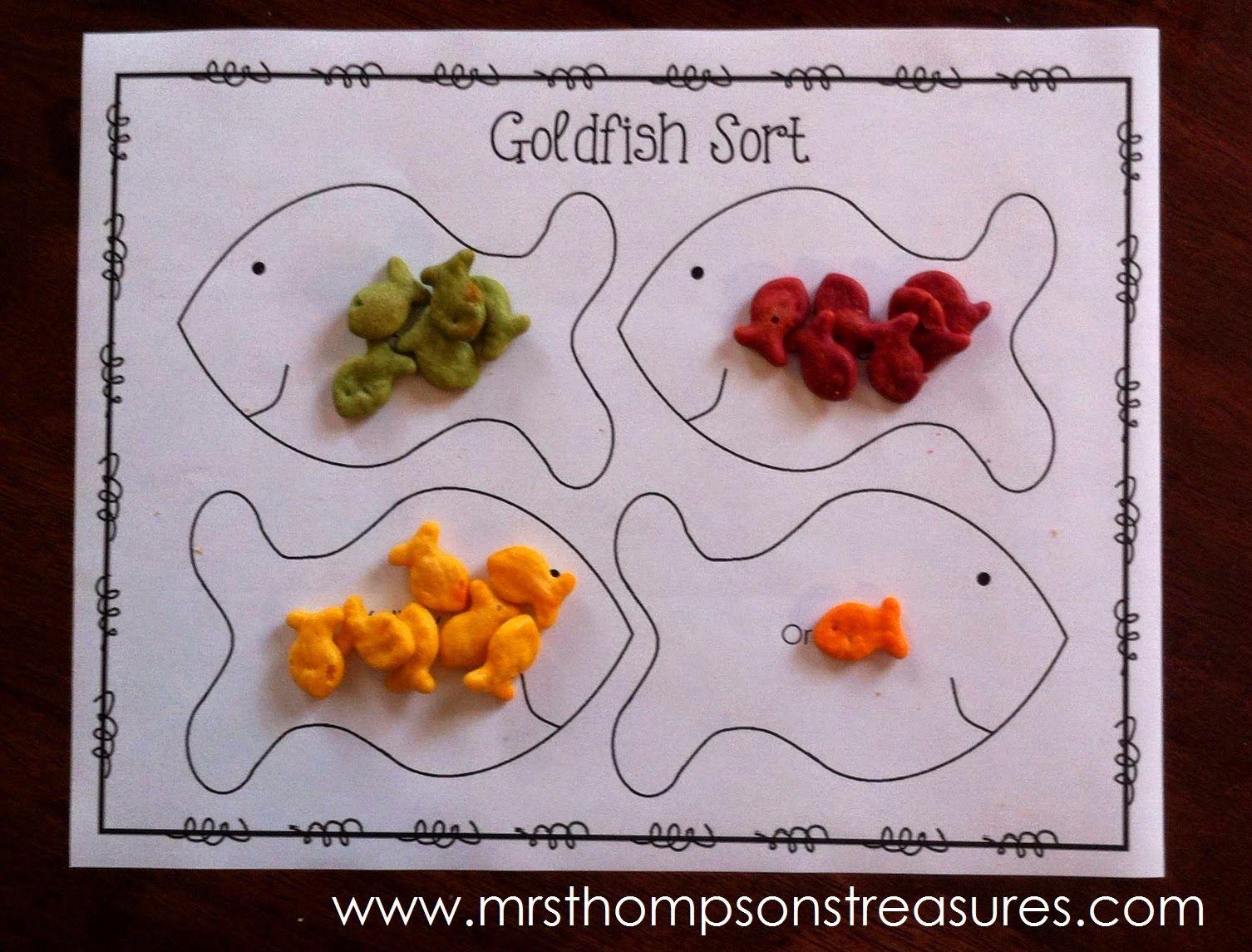Mrs Thompson S Treasures Goldfish Cracker Fun