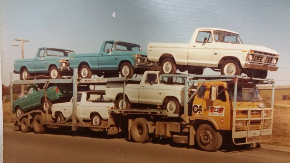 An Old Photo From Sidney Australia Ford Pickup 1979 Ford Truck