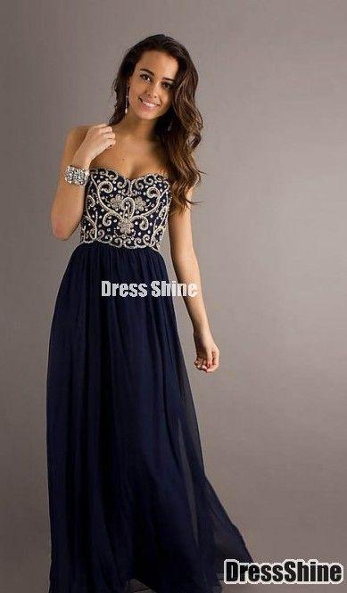 Sapphire Ball Dress