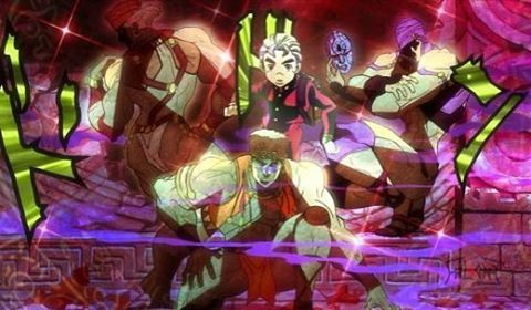 The pillar men and the ultimate life form #jjba
