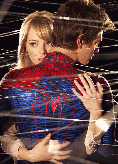 the amazing spiderman: Emma Stone & Andrew Garfield ...