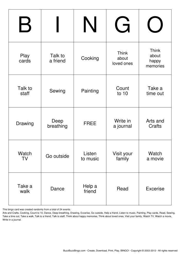 {Coping Skills Jeopardy game from rectherapyideas Good reference – Coping Skills Worksheets for Kids