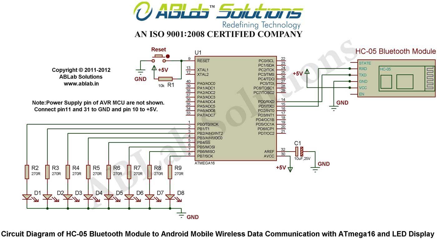 hc 05 bluetooth module to android mobile wireless data communication rh pinterest com