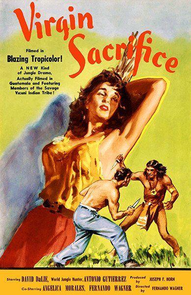 Virgin Sacrifice - 1959 - Movie Poster