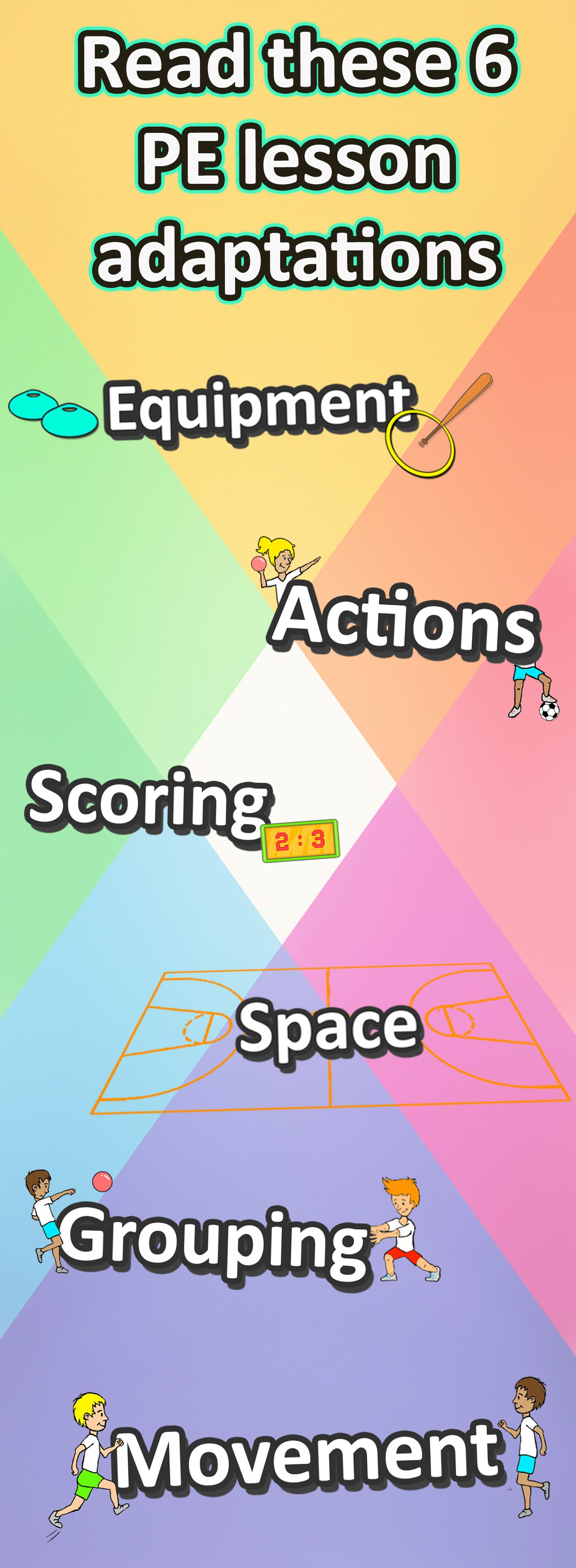Challenge Your Pe Class With These 6 Lesson Adaptations