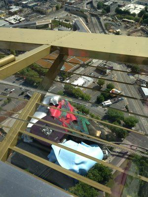 the EMP museum looks like a deconstructed guitar from above! | Yelp