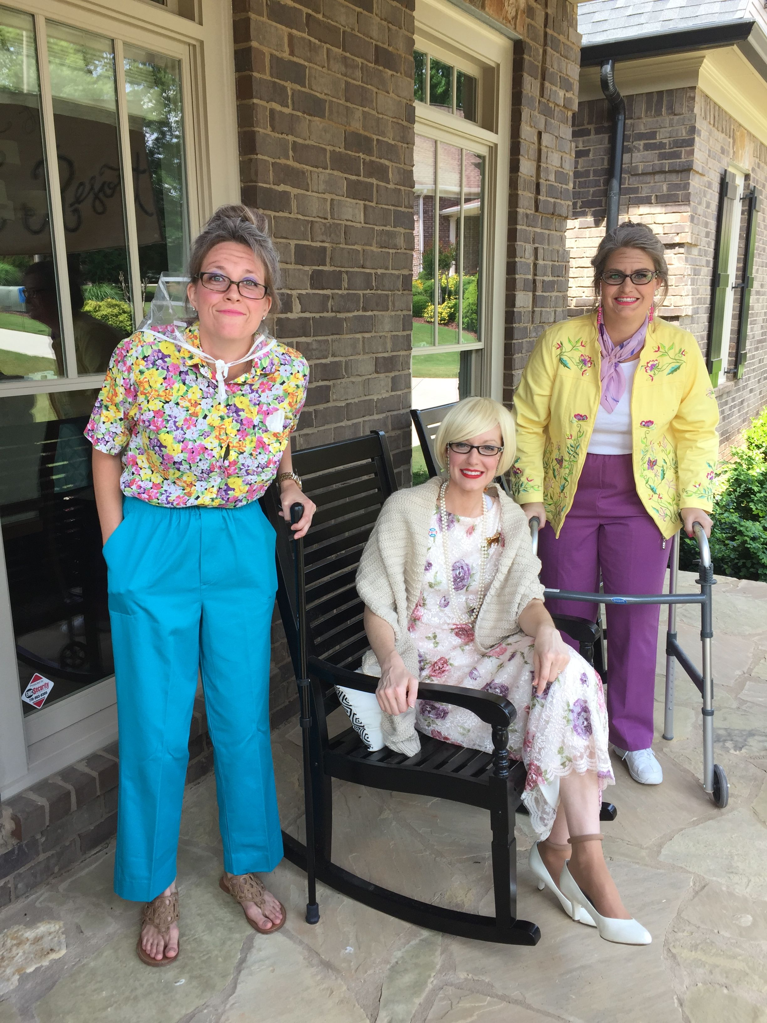 Old Lady Retirement Home Themed 30th Birthday Party Ladies Party 30th Birthday Parties Bachelorette Party