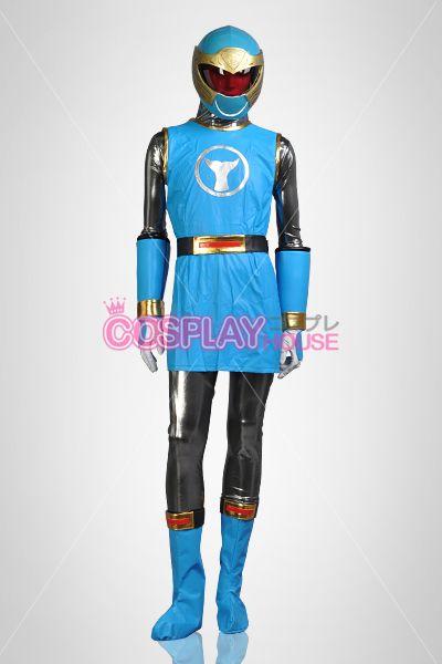 Power Rangers Ninja Storm Cosplay -- Hurricane Blue Ranger