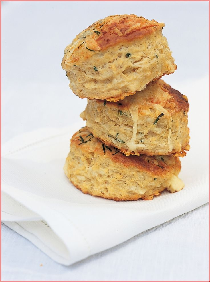 Buttermilk Scones with Cheshire Cheese and Chives –