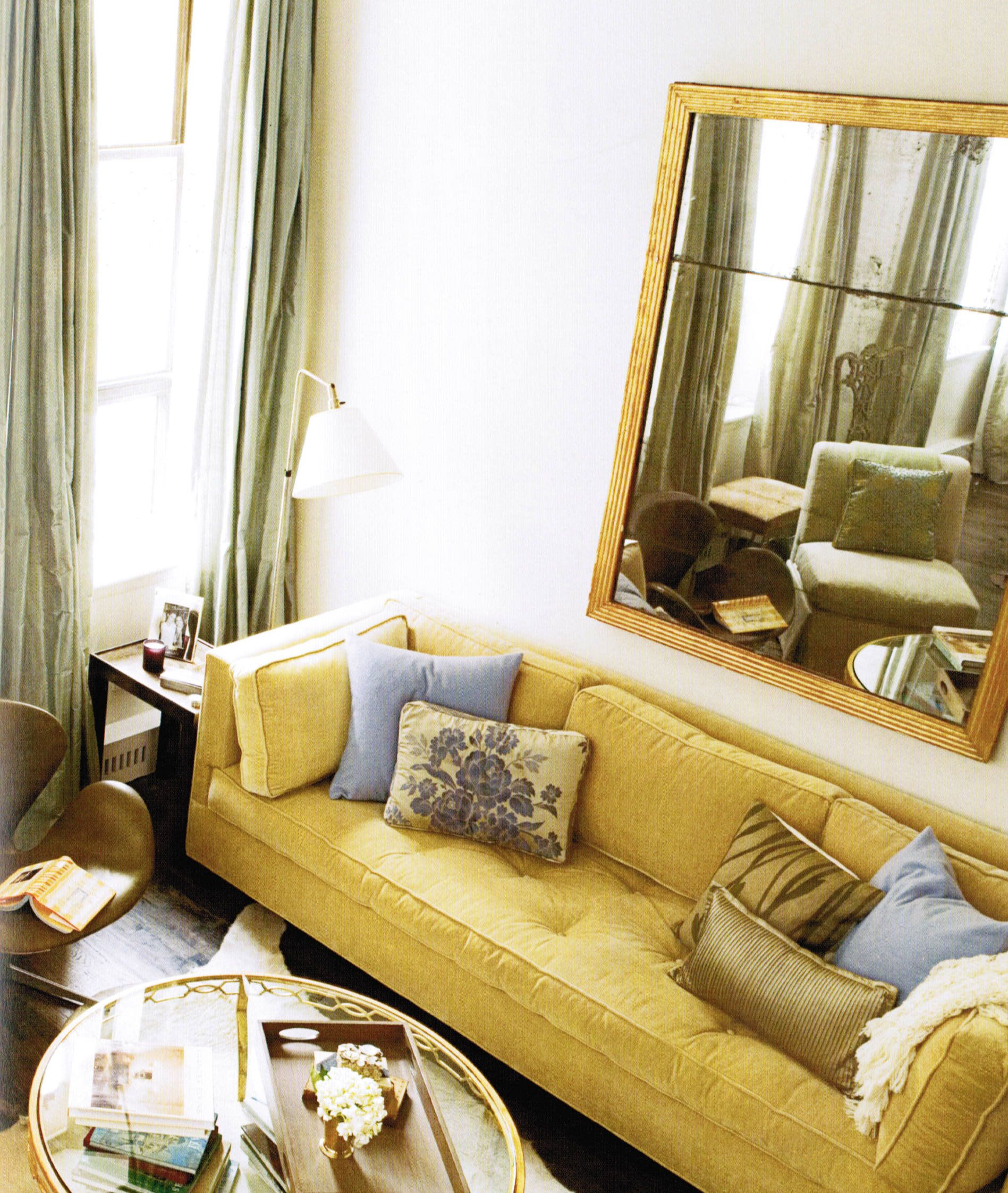 Color Sofas Living Room Twin Size Sofa Bed Canada Aggressive Accents Periwinkle Pale Sage Gold
