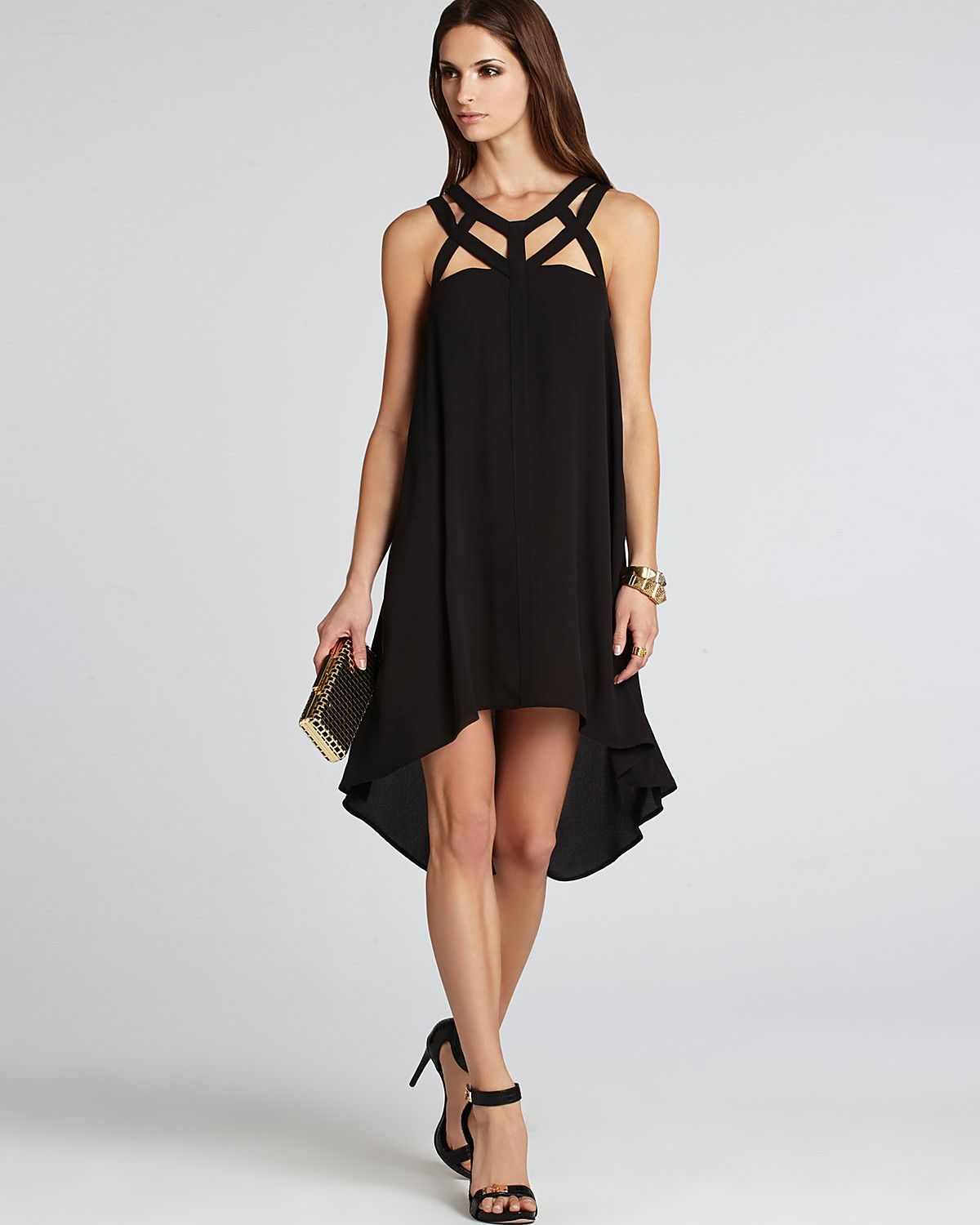 BCBGMAXAZRIA Dress - Babette Cutout | Bloomingdale\'s | Dress Code ...