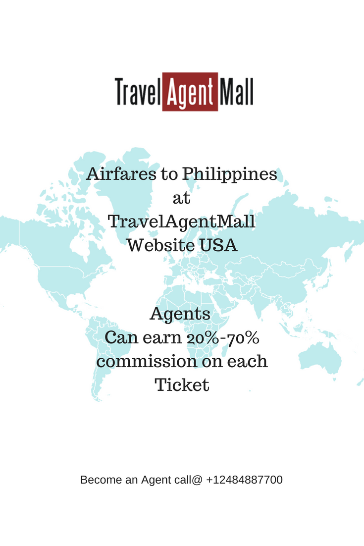 Airfares To Philippines At Travelagentmall Website Usa Get 20 To