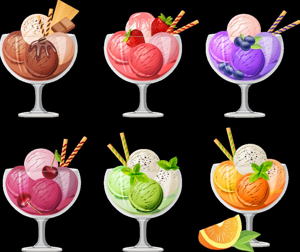 403 Forbidden Fruit ice cream, Food art, Cocktails vector