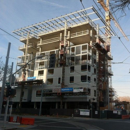 7th H Affordable Housing With Images Affordable Housing Concrete Building Post Tension