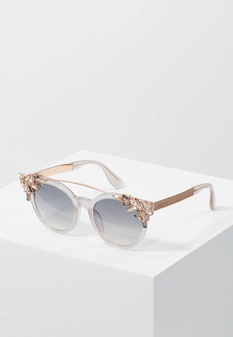 Jimmy Choo. VIVY - Sunglasses - pink gold-coloured. Frame style ... 9c3e8ef6968c