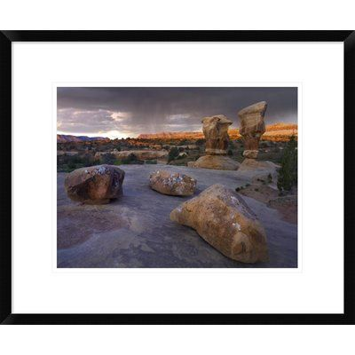 Global Gallery Devil's Garden Sandstone Formations, Escalante National Monument, Utah by Tim Fitzharris Framed Photographic Print Size: