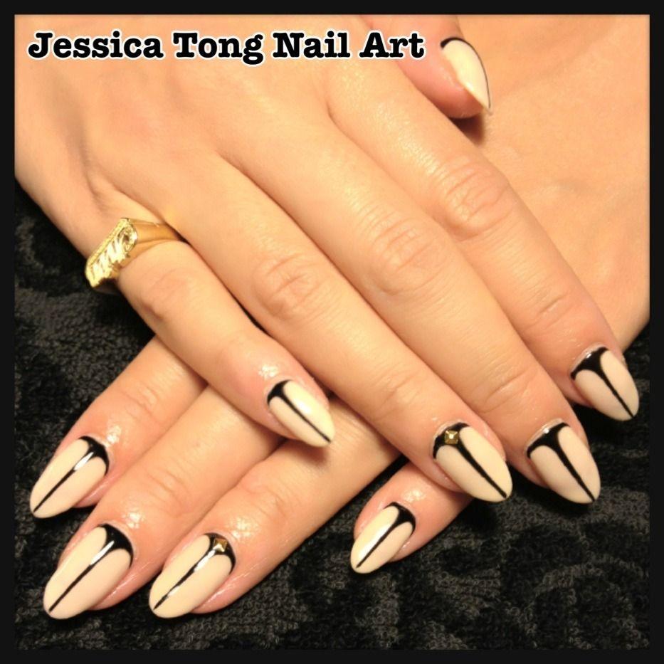 Christian Louboutin inspired nails | Eye Makeup & Finger Nail Ideas ...