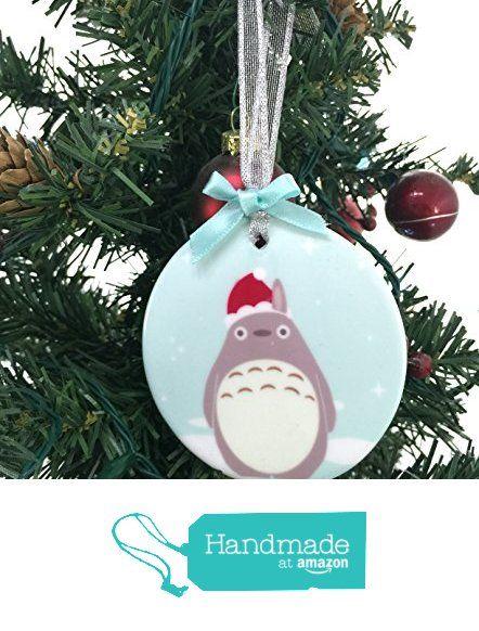Amazon Com My Neighbor Totoro Christmas Holiday Ornament Handmade Christmas Ornaments Holiday Christmas