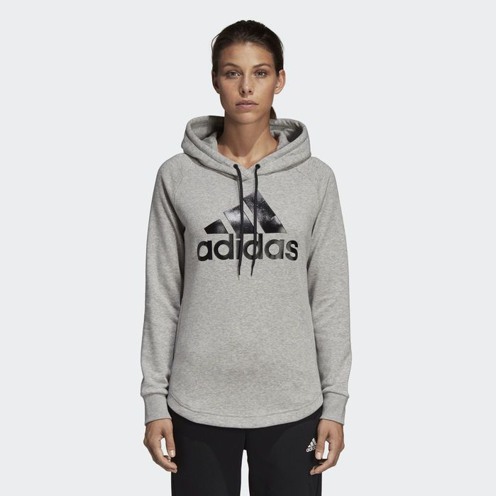"Damen Kapuzen-Sweatshirt  /""Must Haves Badge of Sport Logo Hoodie/"""