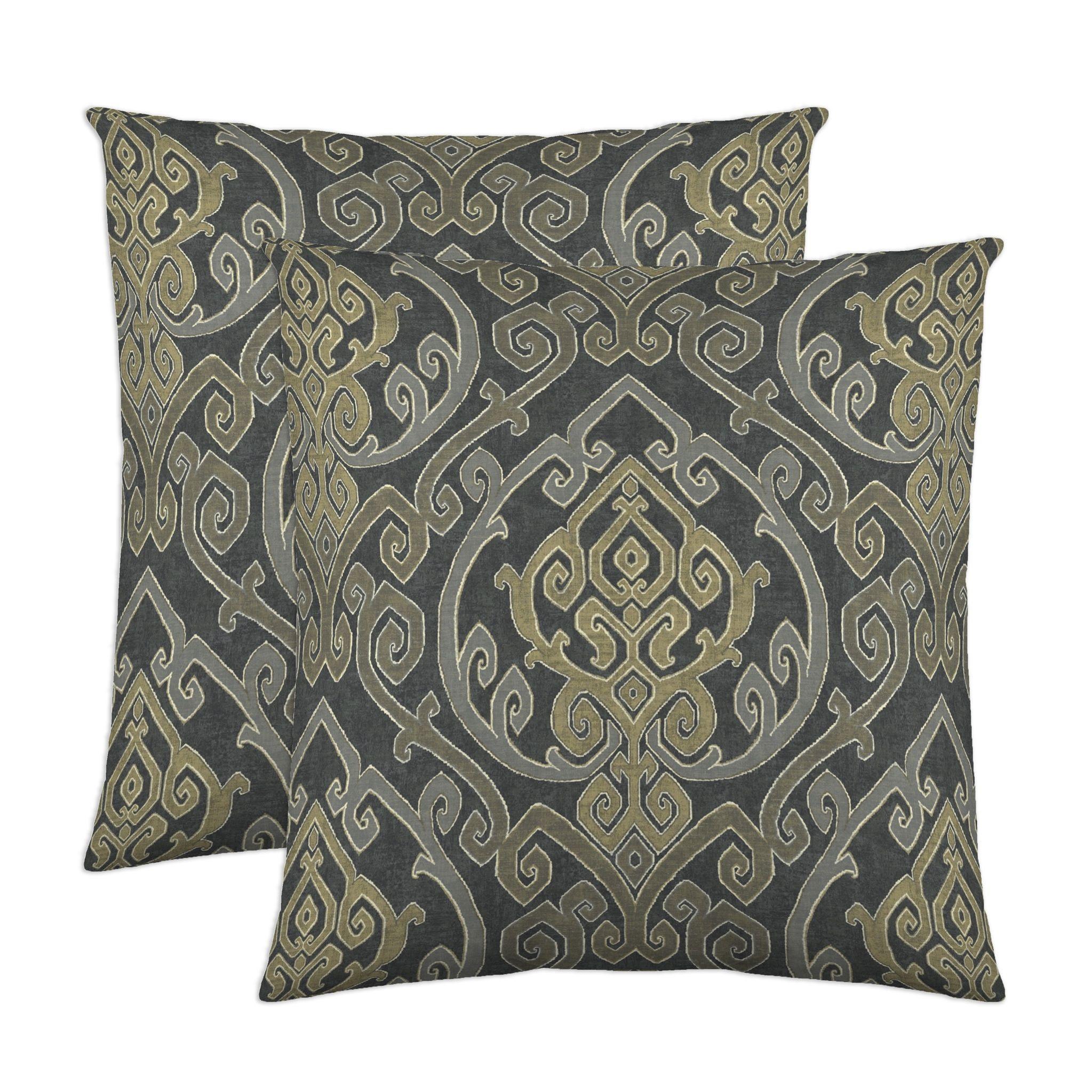 Colorfly home pillows u uzayau in charcoal pillows homedecor