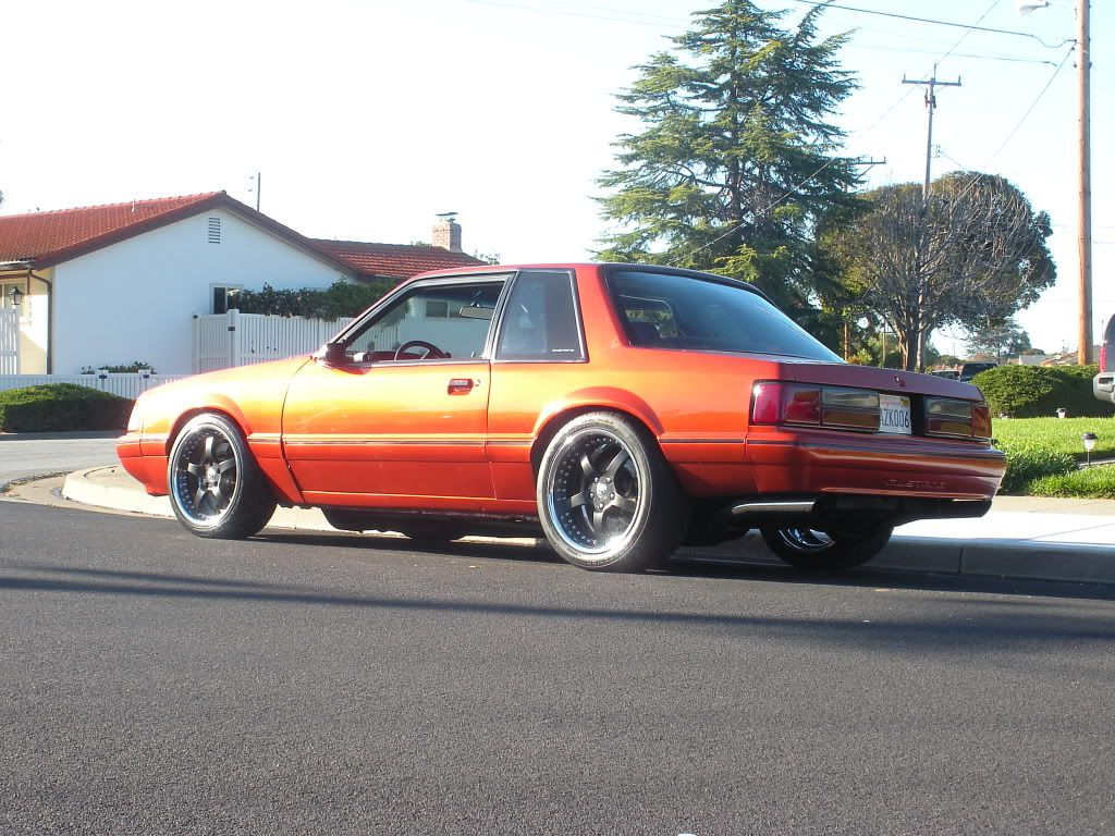 Pictures Of My Foxbody Coupe Northern California Ford Owners Notchback Mustang Fox Body Mustang Ford Fox