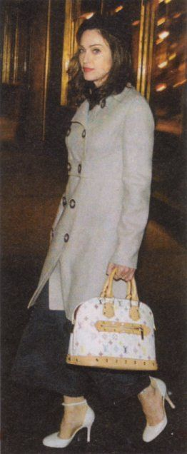 Madonna stepping out during American Life (2003)