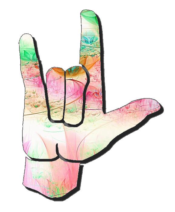 Asl Clip Art 5 4 Asl Sign Language Simple Signs Clip Art