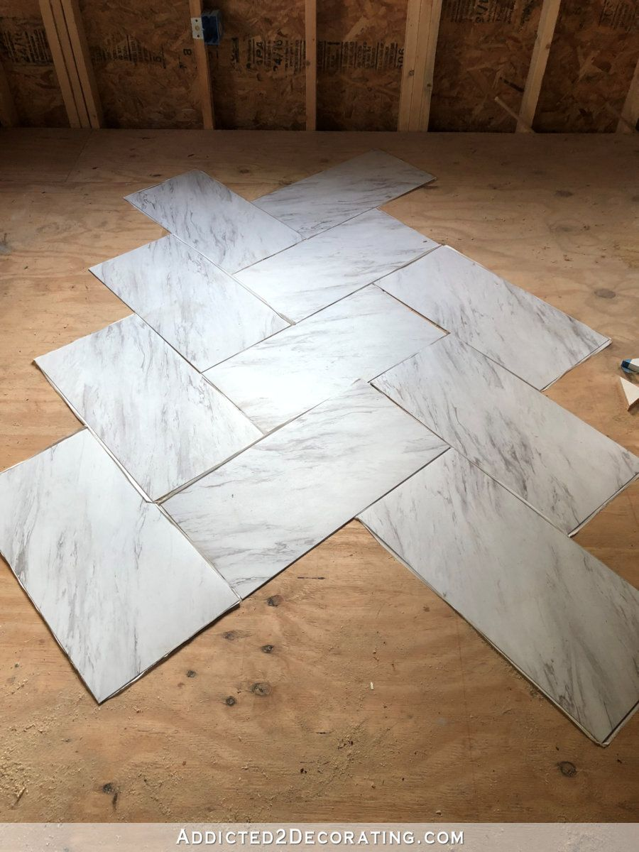 I Ve Made A Studio Flooring Decision And Purchase Addicted 2 Decorating Marble Vinyl Flooring House Flooring