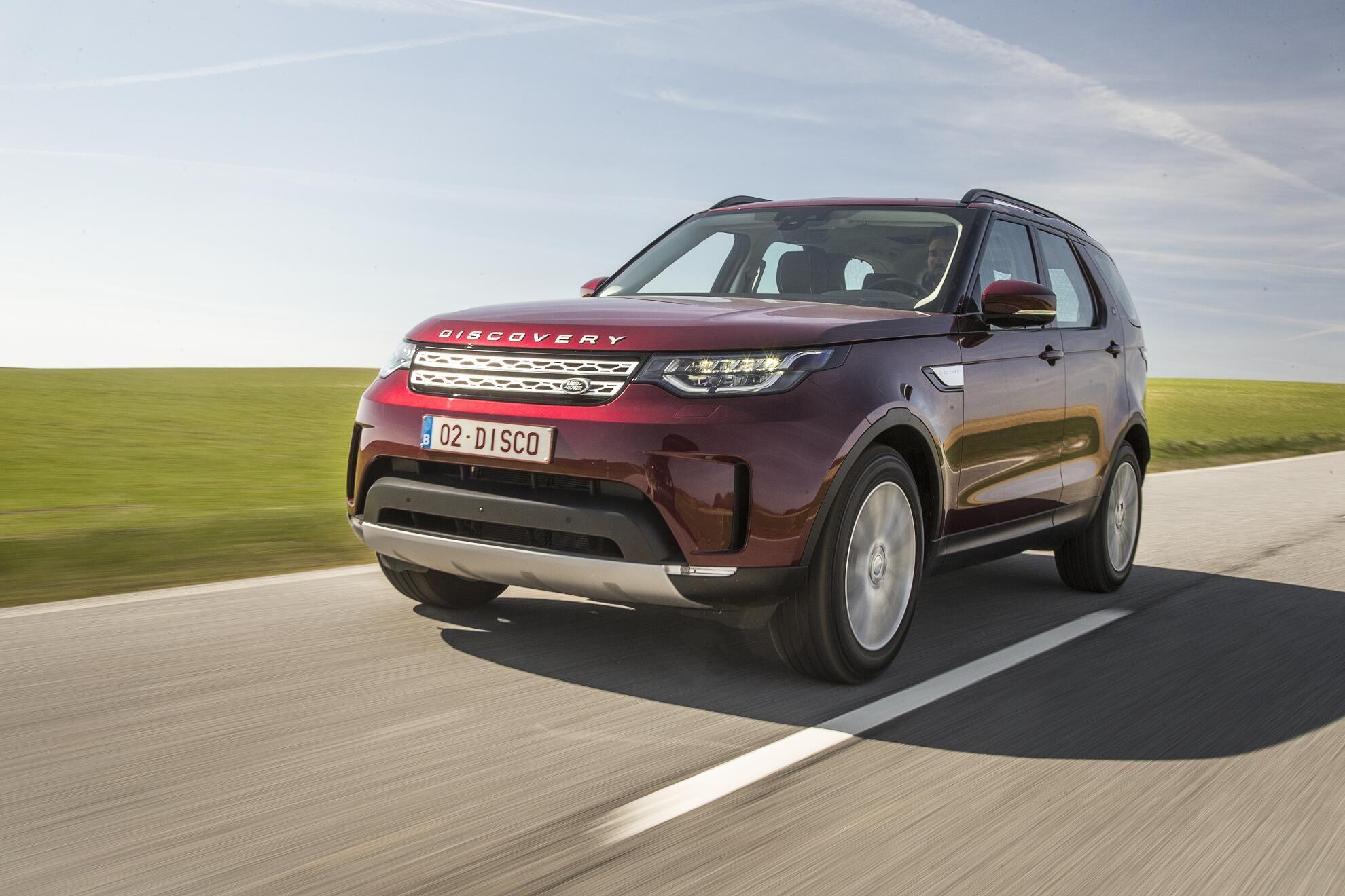 Modellbeschreibung Uber Den Land Rover Discovery Der Funften