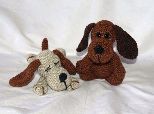Amigurumi Anleitung Hund : Häkel hund crochet dog selbstgehäkelt nach einer anleitung von