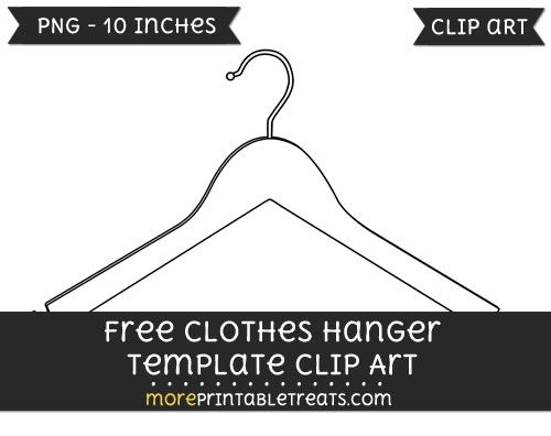 Free Clothes Hanger Template - Clipart Free Clipart Files - thermometer template