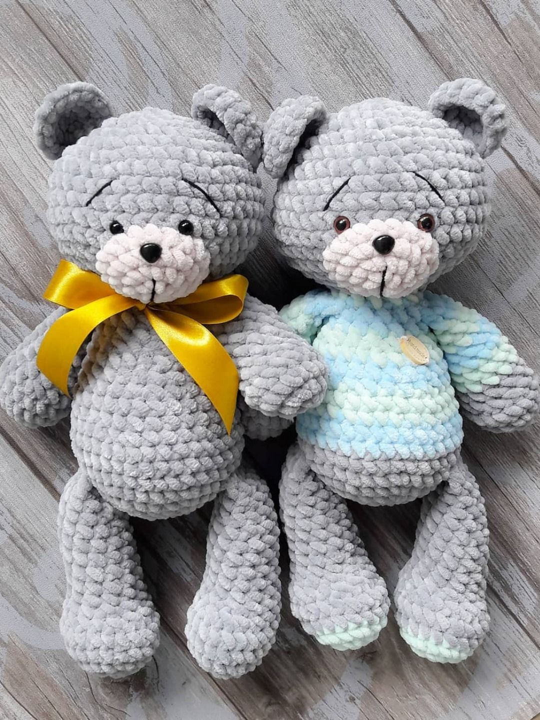 FREE crochet teddy bear pattern #crochetbearpatterns